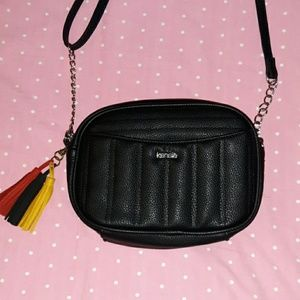Quilted Leather-Like Kensie Purse Chain Strap